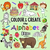 Best Books 5 Year Old Boys - Colour & Create The Alphabet: A Fun Colouring Review