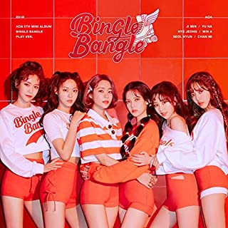 FNC AOA - BINGLE BANGLE [Play ver.] (5th Mini Album) CD+Booklet+Sticker&Postcard Set+Photo Card+Folded Poster+Free Gift