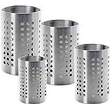 finality Stainless Steel Multipurpose Cutlery Holder (7cm + 8cm + 9cm + 10 cm)-Pack of 4