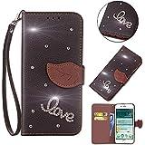 Sharp Aquos Sense SHV40 Case, Meroollc [ Portable Wallet ] [ Slim Fit ] Heavy Duty Protective Cell Phone Cases Flip Cover Wallet Case For Sharp Aquos Sense SHV40 - Black