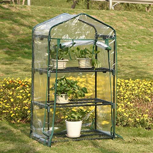 Gewächshaus, Folien-Gewächshaus für die Mini Bio-Produktion und den Blumenanbau Lichtdurchlässig...