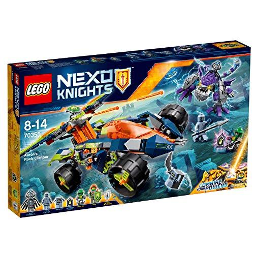 Nexo Knights - Escalarrocas de Aaron Lego 70355
