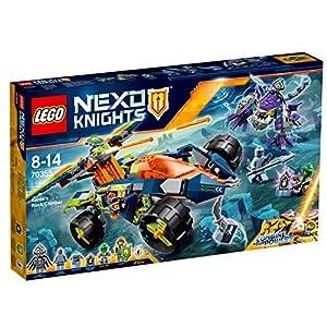 LEGO Nexo Knights Escalarrocas de Aaron - Juegos de construcción (Multicolor, 8 año(s), 598 Pieza(s), 12 año(s), 598 Pieza(s))