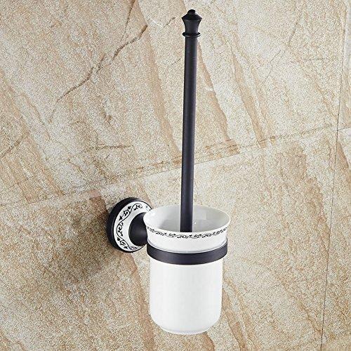 Hiendure® Ottone montaggio a parete accessori da bagno ( scopino e porta )