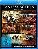 Fantasy Action Edition (Geralt von Riva – Der Hexer / Merlin und das Reich der Drachen / Midnight Chronicles)[Blu-ray]