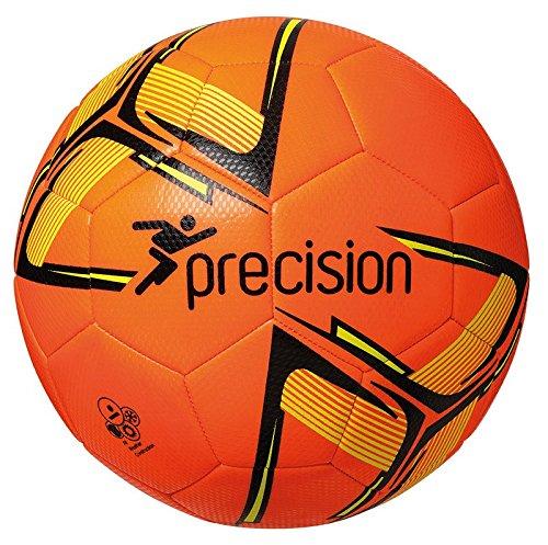Precision Unisex Youth Fusion IMS - Balón de fútbol de Entrenamiento, Color Naranja Fluo/Negro/Amarillo...