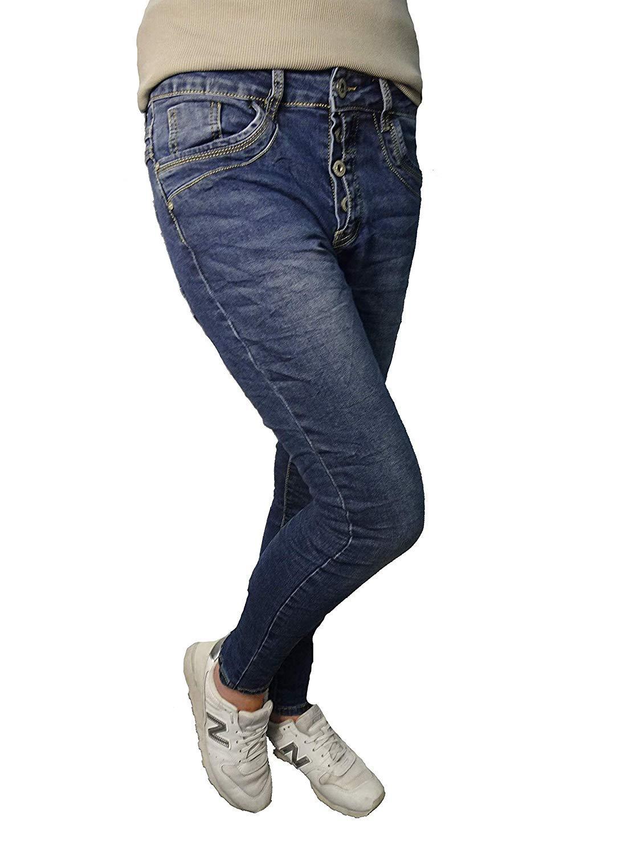 Jewelly by Lexxury Jeans blau seite