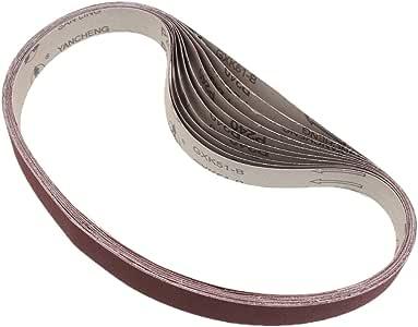 20x Aluminiumoxid-Schleifb/änder Schleifband Bandschleifer 25 x 762 mm,20Stk 120# und 240#