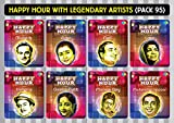 #9: Happy Hour With Legendary Artists Pack 95 (Pack Of 8 Mp3S With 300+ Tracks, Biggest Artists, Retro Collection, Compilation Of Old Hindi Movie Songs)