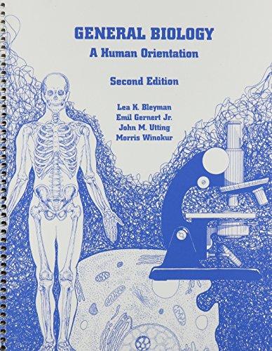 General Biology a Human Orientation