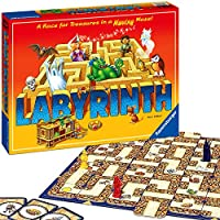 Ravensburger UK 26448 Ravensburger Labyrinth-The Moving Maze Family Board Game for Kids & Adults Age 7 & Up-Millions Sold, Easy to Learn and Play with Replay Value