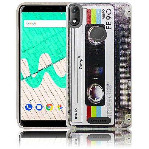 Wiko View Max Kassette Retro Handy-Hülle Silikon - staubdicht, stoßfest & leicht - Smartphone-Case thematys