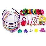 AizelX 30Pcs Hair Accessories Fashion Clips Hair Band Clutches Hair pin Hair Rubber Gift for Girl Birthday Gift
