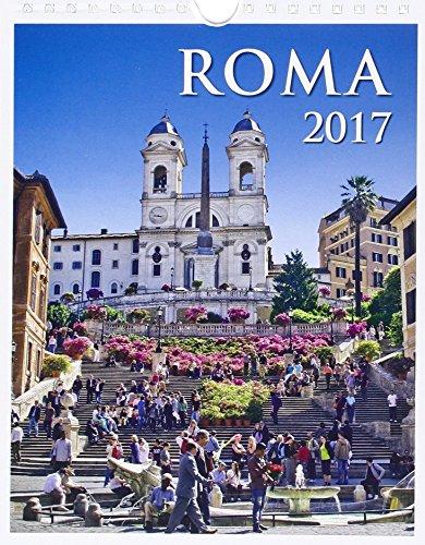Calendario 12 mesi 2017 Roma Piazza Spagna