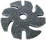 Jooltool scotch-brite Unitized disco abrasivo, dorso in tessuto non tessuto web, ossido di alluminio, diametro 7,6cm, 3S Fine Grade, 1