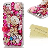 6 Plus Case,Iphone Case - Mavis's Diary 3D Handmade Bling Crytal Colorful Shiny