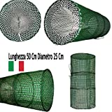 Nassa Pesca Polpi Gamberi Mare Made in Italy 50x25 cm