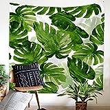 SHASHA Tropical Hoja Grande Nórdica Tapiz Rectángulo Tapiz Arte Colgante De Pared De La Toalla De