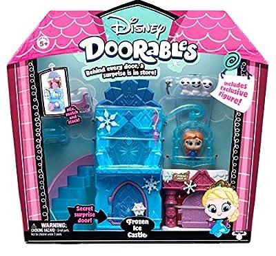 Doorables 35013 Frozen Disney - Juego de 3 Figuras coleccionables con Ojos de Purpurina y Muchos Accesorios, para niños a Partir de 5 años, diseño de Frozen por BOTI