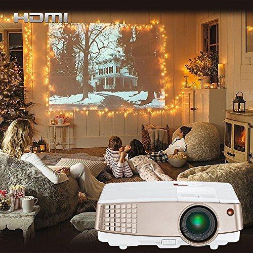 Roku-box Für Netflix (Beamer HD, EUG Projektor Heimkino Video HDMI VGA Audio für Smartphone laptop PC DVD--Player)