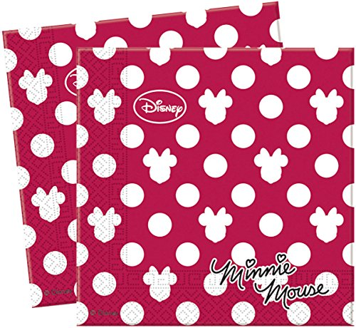Serviettes-Minnie-Mousse-Disney-Taille-Unique