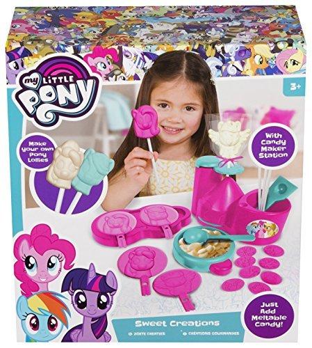 My Little Pony Juguetes de Chocolate Fabricante de piruletas de Chocolate Actividades de Gran Fiesta para niños Increíble cumpleaños