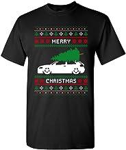 Merry Christmas Ugly Xmas Tree Funny Humor DT Adult T-Shirt Tee