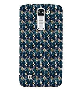 EPICCASE bluey layers Mobile Back Case Cover For LG K10 (Designer Case)