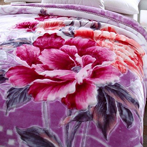 BDUK Raschel Decke Fett warm Double Double Matte Decke Winter decken Eheschließung