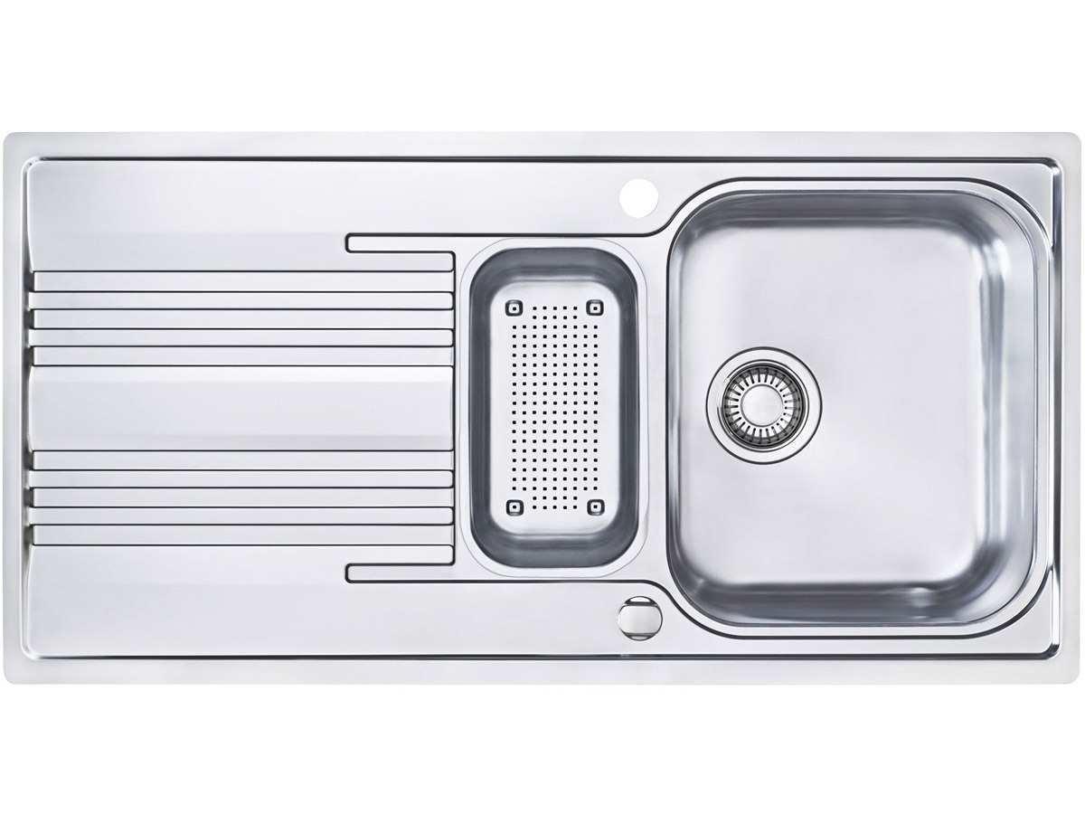 Franke Smart SRX 651lavello in acciaio liscio da cucina lavandino resto bacino lavello da incasso