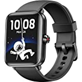 Dirrelo Smartwatch, 1,55 inch Touch Screen Fitness Tracker, Zuurstofsaturatie, Hartslag, Slaapmonitor, Stappenteller, IP68 Wa