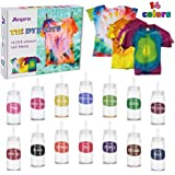 Anpro Tie Dye Kit,160pcs Tie-Dye Diy Set,14 of 100ML Dyes, Arts and Crafts for Kids and Adult