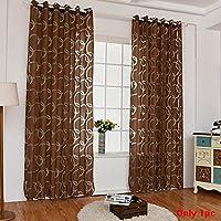 Christine 1 Pc Sheer Vorhänge, Fenster Screening Für Home Wohnzimmer  Schlafzimmer Tür Fenster Decor Kreis