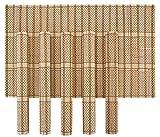 HOKIPO Bamboo Wooden Dinner Table Kitche...