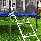 Gartentrampoline Trampoline Outdoor-Trampoline Fitness-Trampoline 370cm , inkl. Sicherheitsnetz,Schuhtasche, Bodenanker, Leiter und Abdeckplane - 6