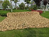 Chasse Militaire Camouflage Net, Miya 3 M * 4 M léger Multi-purpose Camouflage Net pour Camping Militaire Chasse Tir Chasse Abri de Pêche