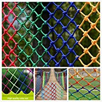 Safety Net Kids Protective Safety Protection Rope Net,Outdoor Child Safety Net Partition Climbing Net Isolation Decorative Net Clothing Store Hanging Clothes Ceiling Net Patio Stair Anti-fall Net Fenc