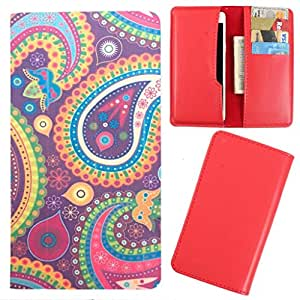DooDa - For Lava X3 PU Leather Designer Fashionable Fancy Case Cover Pouch With Card & Cash Slots & Smooth Inner Velvet