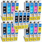 Compatible Epson Expression XP-422 Ink Cartridges 8X Black 4X Cyan 4X Magenta 4X Yellow (20-Pack)