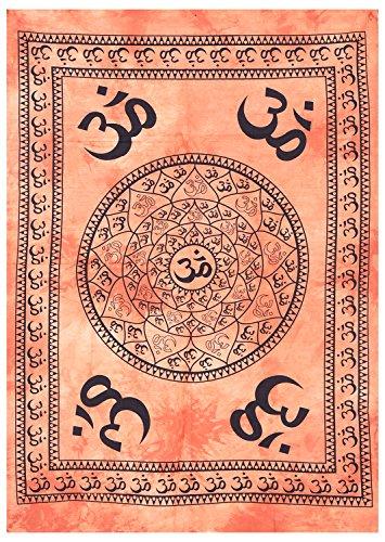 Tye sterben Multicolor OM bedruckt handgefertigt Designs Psychedelic Poster Tapisserie Wand Decor Kleine zum Aufhängen