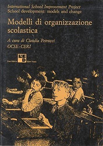Modelli di organizzazione scolastica.