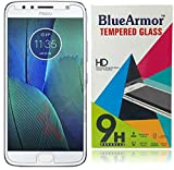 #6: BlueArmor Moto G5s Plus Tempered Glass - Clear