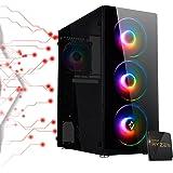 Juego AMD Ryzen 3 PRO 4350G 4,00 Ghz Turbo, 16 Gb Ram 3200 Mhz, SSD M.2 500 GB, 450w 80 Plus, Wi Fi 300Mbps HDMI, Computadora