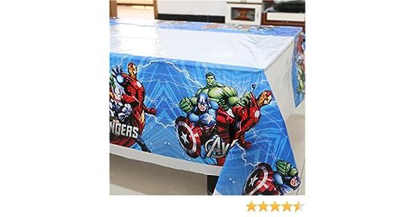 Brockhill Trading Spiderman 108cm*180cm Table Cloth Happy Birthday Party