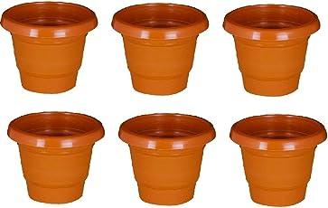 Beautifull and usefull gardens planting pot-Set of 6