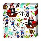 Piraten Reise 2-lagige Papierservietten 33x33cm