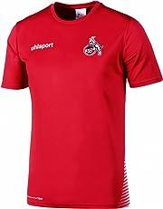 uhlsport 1. FC Köln Score Training T-Shirt 2018/2019 Rot-weiß Kinder