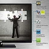 Telefunken XH24D101D 61 cm (24 Zoll) Fernseher (HD Ready, Triple Tuner, DVD-Player) Test
