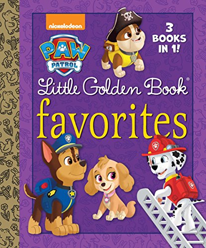 Paw Patrol Little Golden Book Favorites por Golden Books