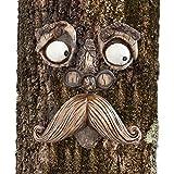 Bits and Pieces-Vecchietto che abbraccia gli alberi – Arte per il tuo giardino – Tree Hugger scultura decorazione per giardino per un aspetto da fiaba